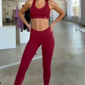 Red Workout Set